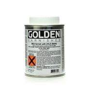 Golden Msa (Mineral Spirit Acrylic) Varnish With Uvls Matte 8 Oz. (7740-5)