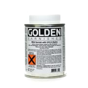 Golden Msa (Mineral Spirit Acrylic) Varnish With Uvls Satin 8 Oz. (7735-5)