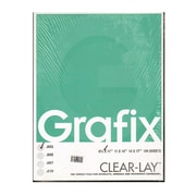 Grafix Clear-Lay Acetate Alternative 0.003 In. 8 1/2 In. X 11 In. Pack Of 100 (K03CV0811)