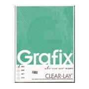 Grafix Clear-Lay Acetate Alternative 0.003 In. 8 1/2 In. X 11 In. Pack Of 100 (K03CV0811)
