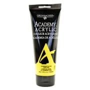 Grumbacher Academy Acrylic Colors Cadmium Yellow Light Hue 6.8 Oz. (200 Ml) [Pack Of 2] (2PK-C033P200)