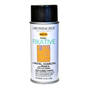 Grumbacher Hard Final Spray Fixative Matte 4.75 Oz. (649)