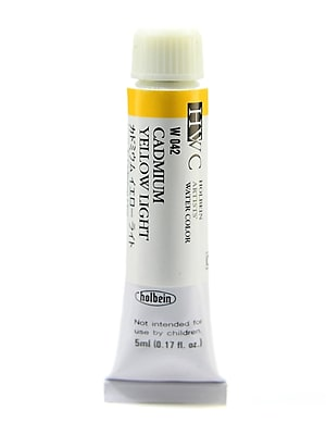 Holbein Artist Watercolor Cadmium Yellow Light 5 Ml [Pack Of 2] (2PK-W042) 2137761