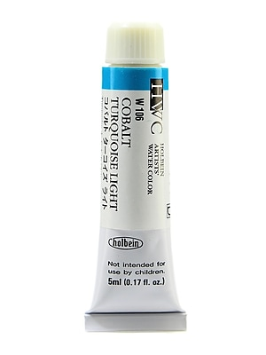 Holbein Artist Watercolor Cobalt Turquoise Light 5 Ml [Pack Of 2] (2PK-W106) 2137730
