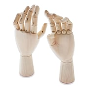 Jack Richeson Wood Hand Manikins Adult Male Left Hand (710220)