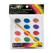 Jacquard Pearl Ex Watercolor Cd Pan Of 12 (PXCD100)
