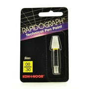 Koh-I-Noor Rapidograph No. 72D Replacement Points 2X0 0.30 Mm (72D.ZZ)