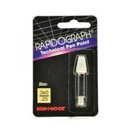 Koh-I-Noor Rapidograph No. 72D Replacement Points 3X0 0.25 Mm (72D.ZZZ)