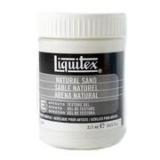 Liquitex Acrylic Texture Gel Mediums Natural Sand 8 Oz. [Pack Of 2] (2PK-6508)