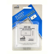 Logan Graphic Products Mat Cutter Blades Pack Of 100 No. 269 (269-100)