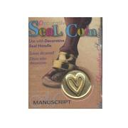Manuscript Chronicle Wax And Seal Range Heart (MSH725HEA)