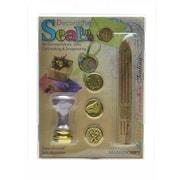 Manuscript Decorative Sealing Sets Decorative Seal Set Rings/Horseshoe/Thank You (MSH7273MRG)