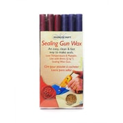 Manuscript Sealing Gun  And  Wax 3 7/8 In. Sealing Gun Wax Pink/Purple Mix Pack Of 6 (MSH7616PP)