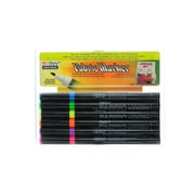 Marvy Uchida Fabric Markers Sets Fluorescent Set Of 6 [Pack Of 2] (2PK-522-6C)