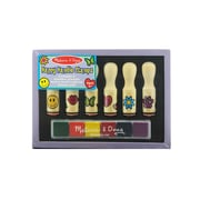 Melissa  And  Doug Wooden Stamp Sets Happy Handles (2407)