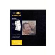 Nielsen Bainbridge Portfolio Photo Albums Black Leather 9 In. X 9 In. (PA03LBK)