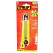 Olfa Utility Cutter Heavy Duty Cutter With Blade L-1 Each [Pack Of 2] (2PK-5003)
