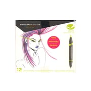 Prismacolor Brush-Tip Marker Sets Set Of 12 Primary  And  Secondary Brush-Tip (1773297)