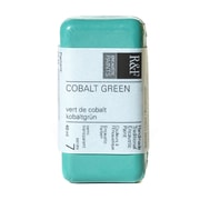 R  And  F Handmade Paints Encaustic Paint Cobalt Green 40 Ml (1062)