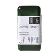 R  And  F Handmade Paints Encaustic Paint Courbet Green 40 Ml [Pack Of 2] (2PK-1029)