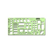 Rapidesign Architectural And Contractors Templates Abc Architectural 1/4 In. = 1 Ft. (R22)