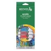 Reeves Acrylic Paint Sets Set Of 12 (8493200)