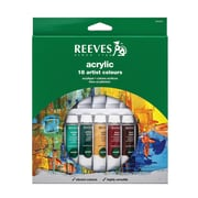Reeves Acrylic Paint Sets Set Of 18 (8493201)
