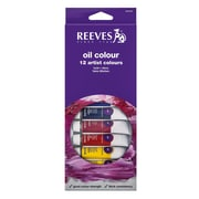 Reeves Fine Oil Colours Sets Set Of 12 (8594300)
