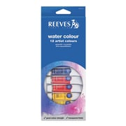 Reeves Water Colour Paint Sets Set Of 12 (8494250)