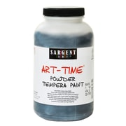 Sargent Art Art-Time Powder Paints Ivory Black 1 Lb. Jar [Pack Of 3] (3PK-22-7185)