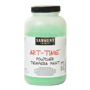 Sargent Art Art-Time Powder Paints Spectral Green 1 Lb. Jar [Pack Of 3] (3PK-22-7166)