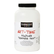 Sargent Art Art-Time Powder Paints Titanium White 1 Lb. Jar [Pack Of 3] (3PK-22-7196)