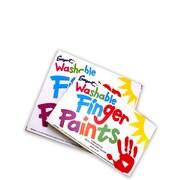 Sargent Art Washable Finger Paint Sets Set Of 8 (66-7018)