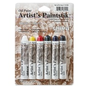 Shiva Artist'S Paintstik Oil Color Sets Basic Colors Set Set Of 6 (121302)