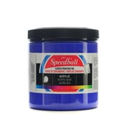 Speedball Acrylic Screen Printing Ink Ultra Blue 8 Oz. [Pack Of 2] (2PK-4631)