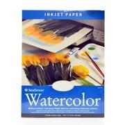 Strathmore Inkjet Paper 8 1/2 In. X 11 In. Watercolor Pack Of 8 (59-771)