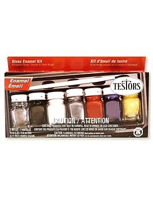Testors Gloss Enamel Kit Each [Pack Of 2] (2PK-9115X) 2135921