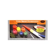 Testors Ultra Bright Fluorescent Paint Kit Each [Pack Of 2] (2PK-9132X)