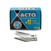 X-Acto No. 11 Stainless Steel Classic Blades Bulk Pack Of 100 (X621)