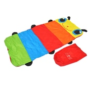 eWonderWorld Colorful Caterpillar Nap Time Sleeping Bag for Children w/Personalized Name Card Holder