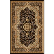 Rug Factory Plus Mona Lisa Black Area Rug; 5'4'' x 7'5''
