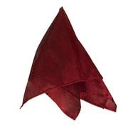 Saro Sheer Tissue Plain Napkin (Set of 4); Burgundy