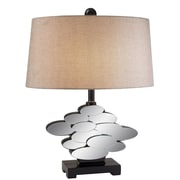 OK Lighting Estate 25'' H Table Lamp with Drum Shade
