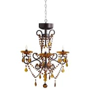 River of Goods 3 Light Crystal Chandelier