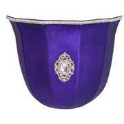 River of Goods 9 Light Mercury Glass Wireless LED Wall Sconce; Purple