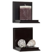 Woodland Home Decor Sconce Shelf (Set of 2)
