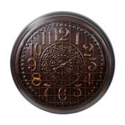 Privilege 37'' Metal Wall Clock