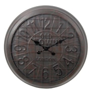 Privilege 28'' Metal Wall Clock