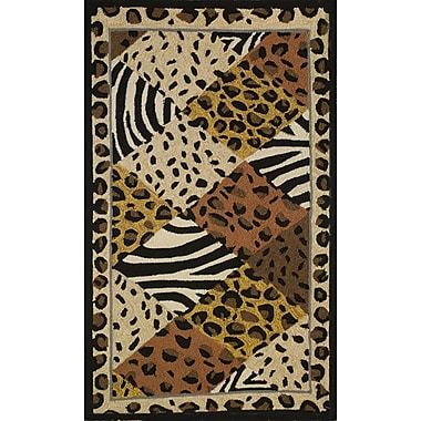 Homefires Animal Print Area Rug; 3' x 5'