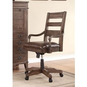 Fairfax Home Collections Harrison Flats Mid-Back Executive Office Chair